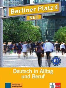 Учебник по немски език Berliner Platz 4 NEU