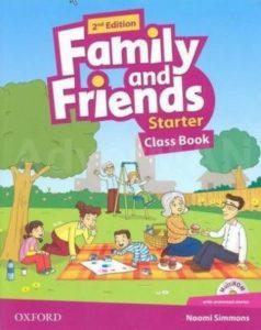 "Учебник по английски език за деца ""Family and Friends"" - Starter, Oxford University Press"