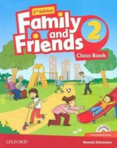 "Учебник по английски език за деца ""Family and Friends"" - 2, Oxford University Press"