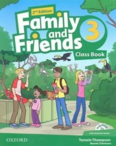 "Учебник по английски език за деца ""Family and Friends"" - 3, Oxford University Press"