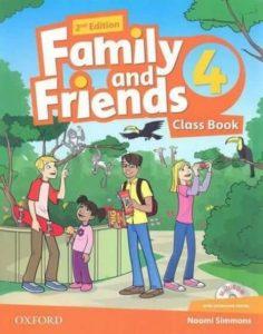"Учебник по английски език за деца ""Family and Friends"" - 4, Oxford University Press"