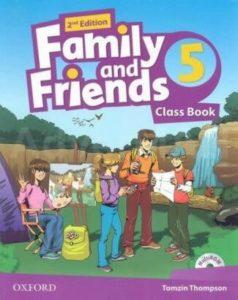"Учебник по английски език за деца ""Family and Friends"" - 5, Oxford University Press"