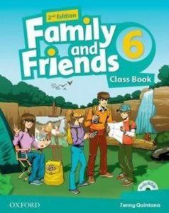 "Учебник по английски език за деца ""Family and Friends"" - 6, Oxford University Press"