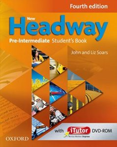 Учебник по английски език Headway - Pre-Intermediate, Oxford University Press