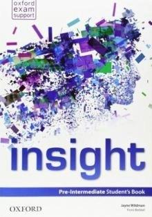 Учебник по английски език за деца Insight - Pre-Intermediate, Oxford University Press