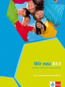 Учебник по немски език за деца Wir neu