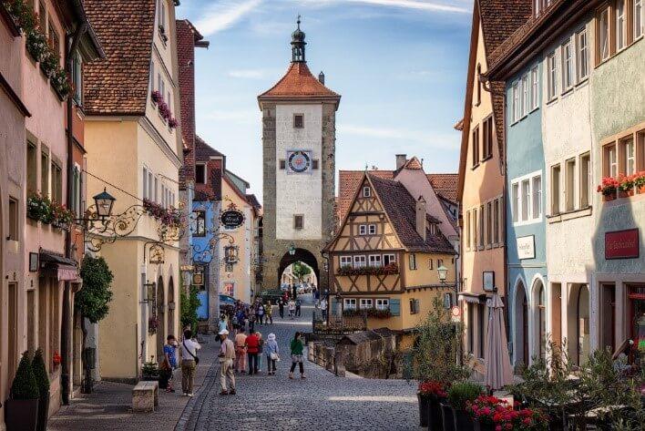 Ротенбург об дер Таубер, Бавария