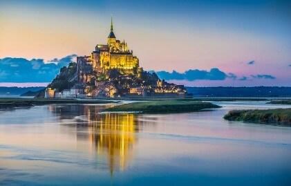 Мон Сен Мишел, Нормандия