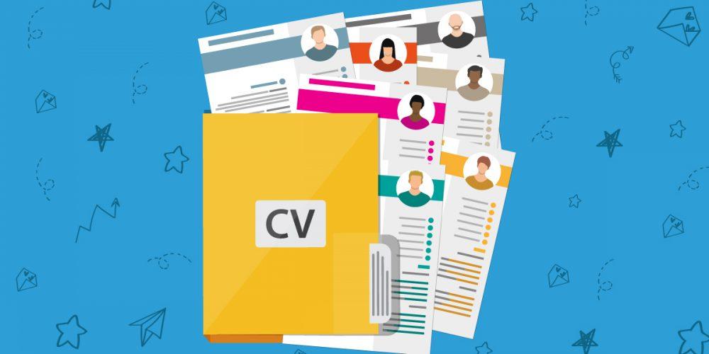 Как се пише CV на английски - картинка